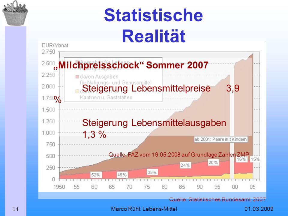 Statistische Realität