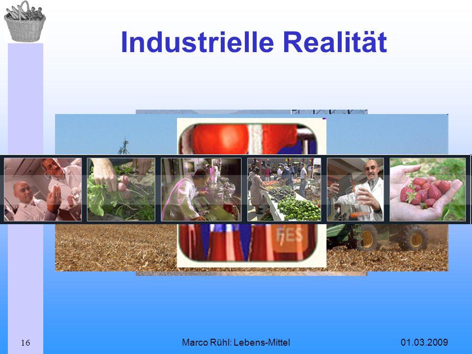 Industrielle Realität