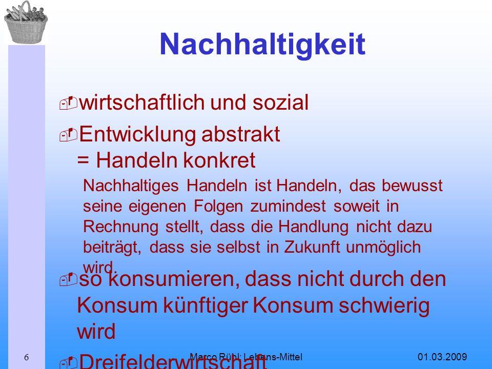 Marco Rühl: Lebens-Mittel