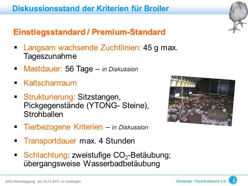 Einstiegsstandard / Premium-Standard