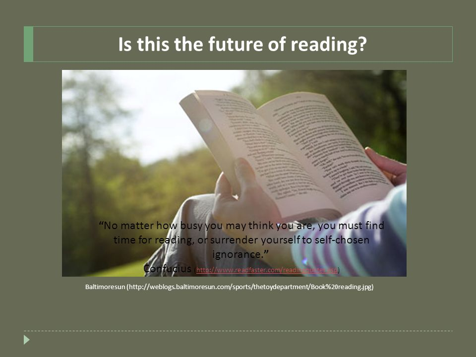 Is this the future of reading
