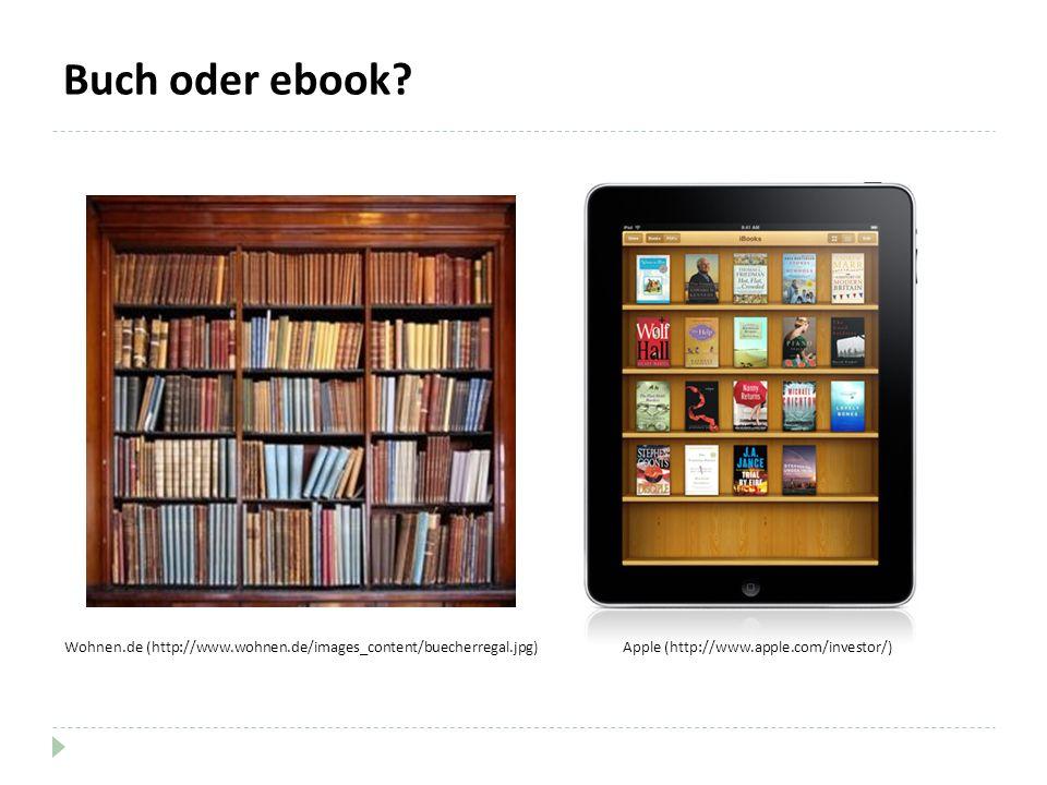 Buch oder ebook.