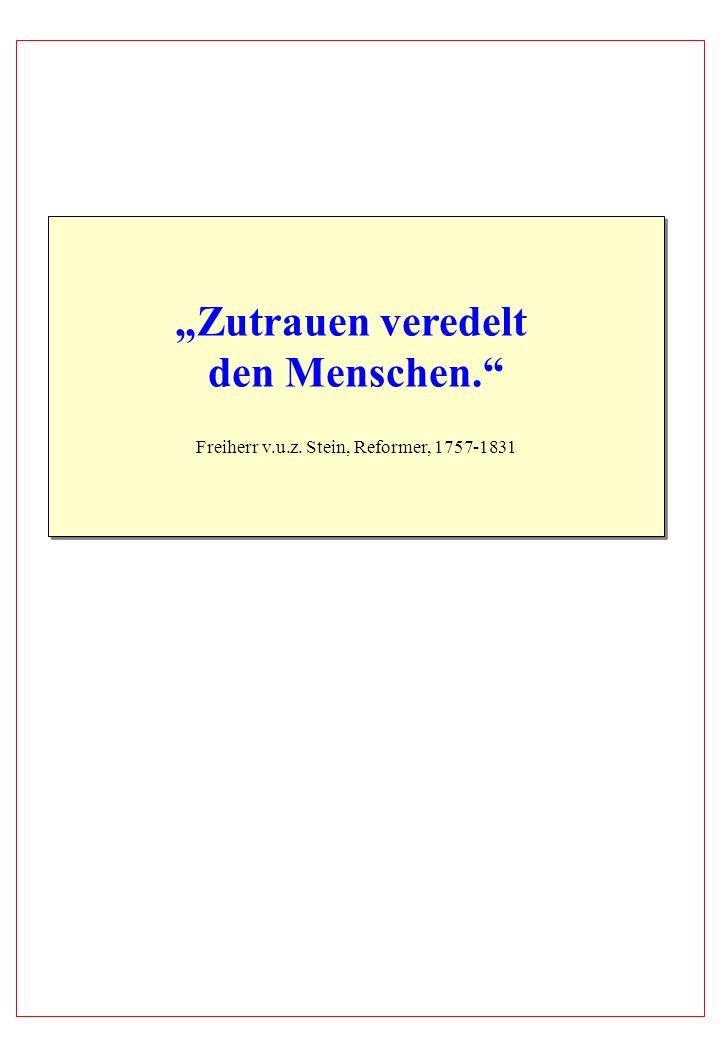 Freiherr v.u.z. Stein, Reformer, 1757-1831