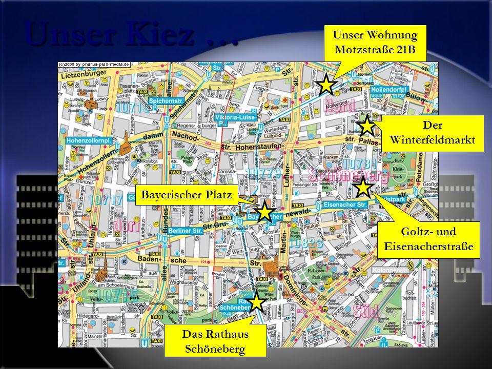 Goltz- und Eisenacherstraße Das Rathaus Schöneberg