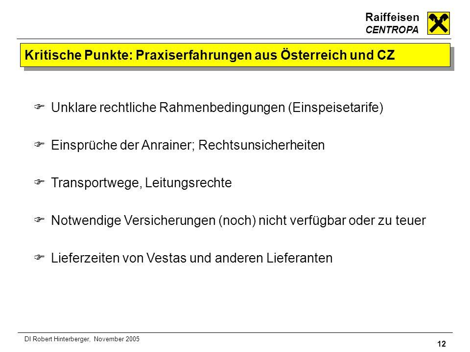 Kritische Punkte: Praxiserfahrungen aus Österreich und CZ