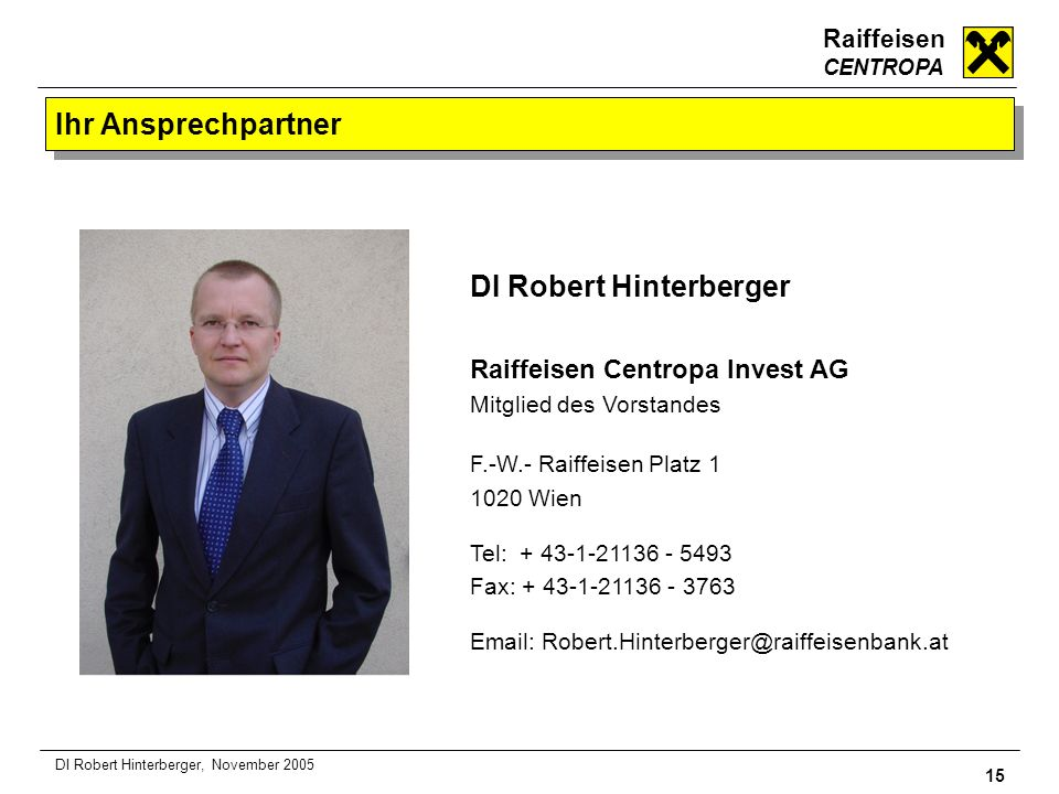 DI Robert Hinterberger