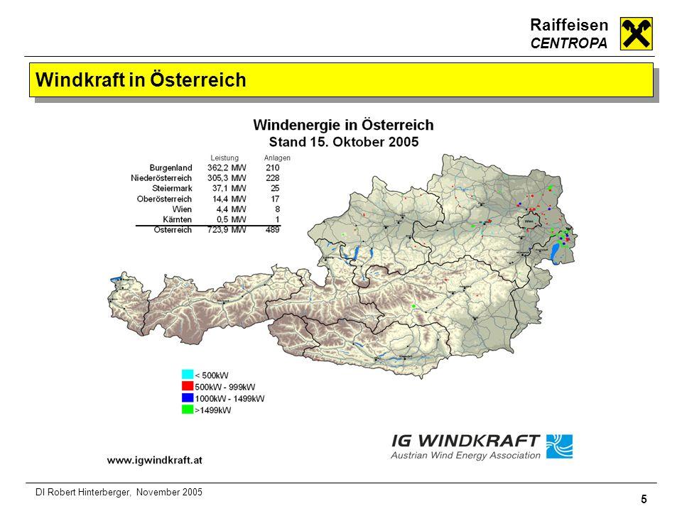 Windkraft in Österreich