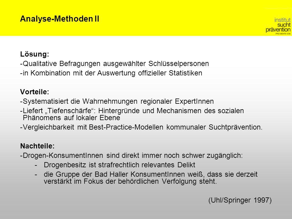 Analyse-Methoden II Lösung: