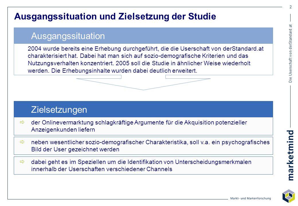 Ausgangssituation und Zielsetzung der Studie