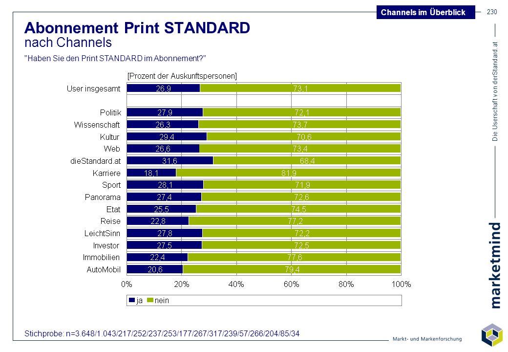 Abonnement Print STANDARD