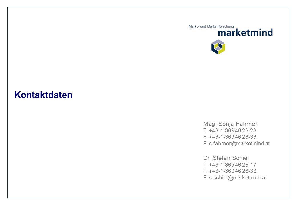 Kontaktdaten Mag. Sonja Fahrner Dr. Stefan Schiel T +43-1-369 46 26-23
