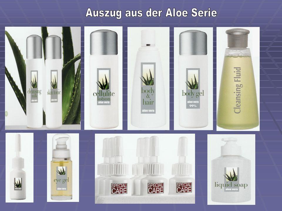 Auszug aus der Aloe Serie
