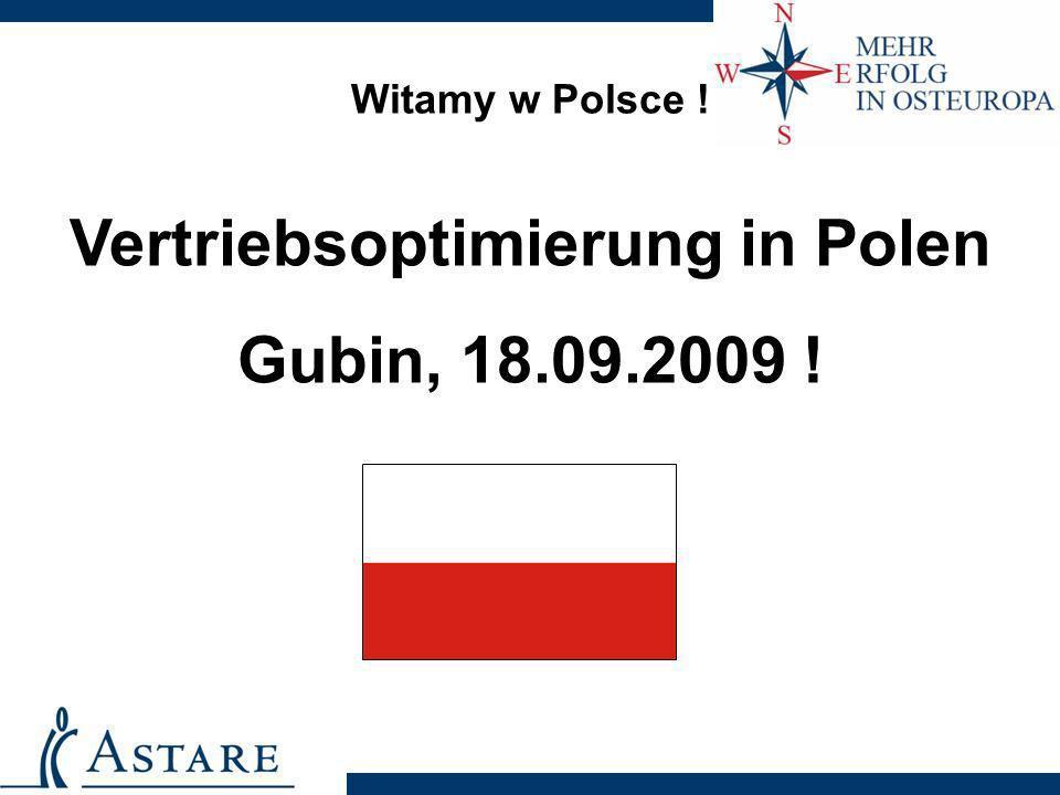 Vertriebsoptimierung in Polen