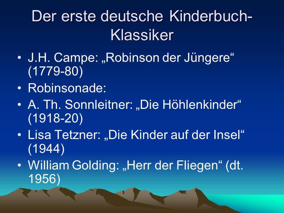Der erste deutsche Kinderbuch-Klassiker