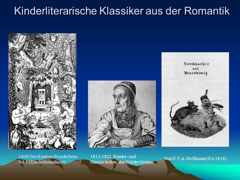 Kinderliterarische Klassiker aus der Romantik