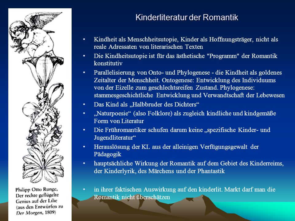 Kinderliteratur der Romantik