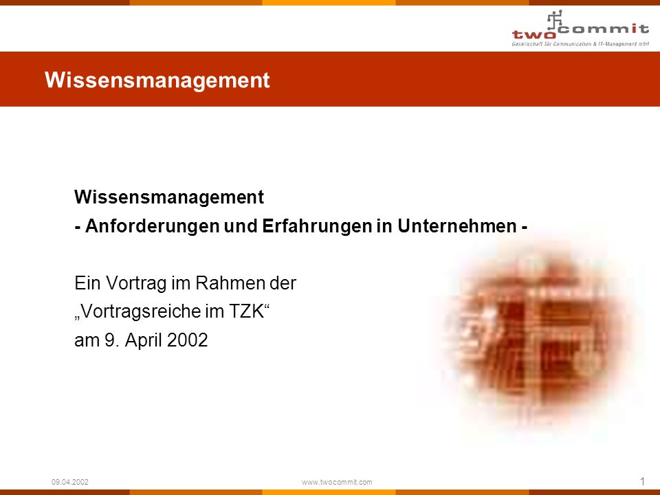 Wissensmanagement Wissensmanagement