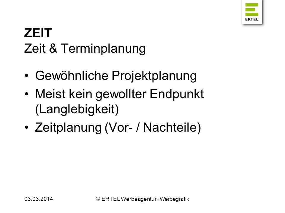 ZEIT Zeit & Terminplanung