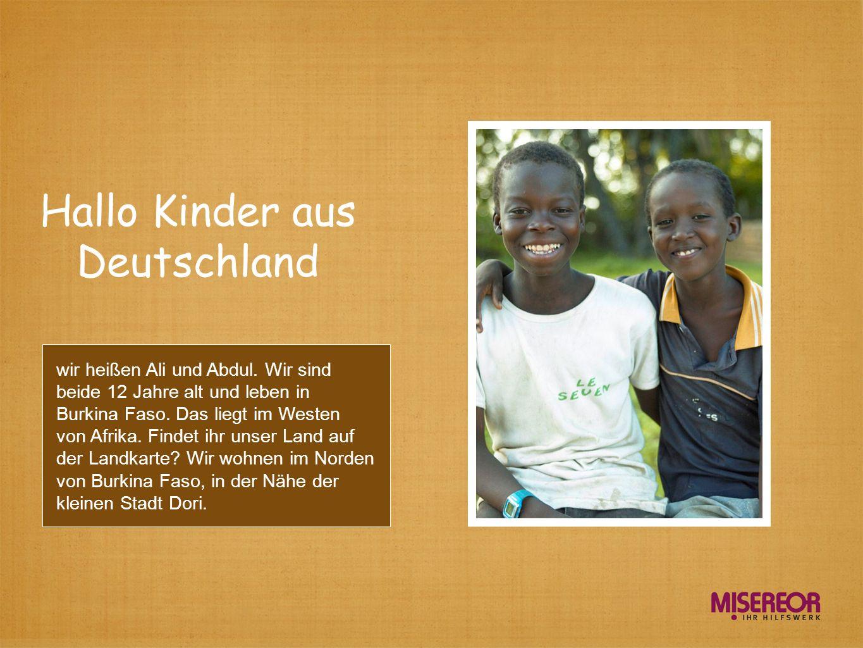 Hallo Kinder aus Deutschland