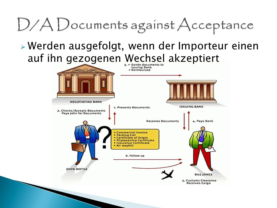 D/A Documents against Acceptance