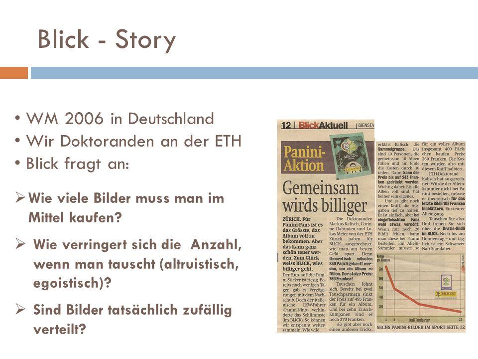 Blick - Story WM 2006 in Deutschland Wir Doktoranden an der ETH