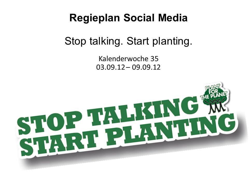 Regieplan Social Media
