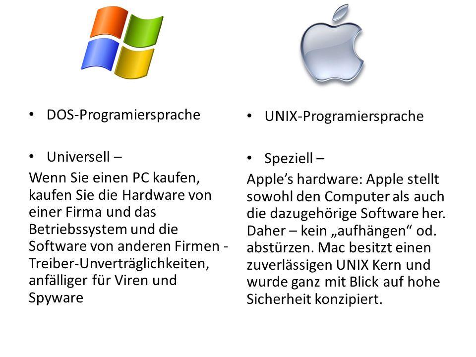DOS-Programiersprache