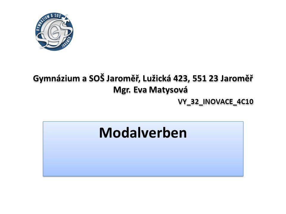 Gymnázium a SOŠ Jaroměř, Lužická 423, 551 23 Jaroměř Mgr