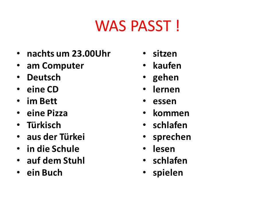 WAS PASST ! nachts um 23.00Uhr am Computer Deutsch eine CD im Bett