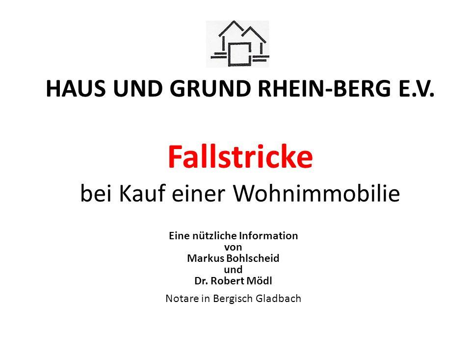 Eine nützliche Information von Markus Bohlscheid und Dr. Robert Mödl