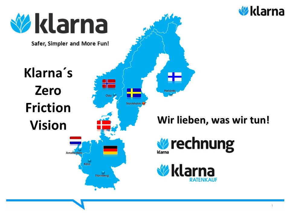 Klarna´s Zero Friction Vision