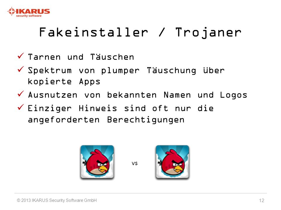Fakeinstaller / Trojaner