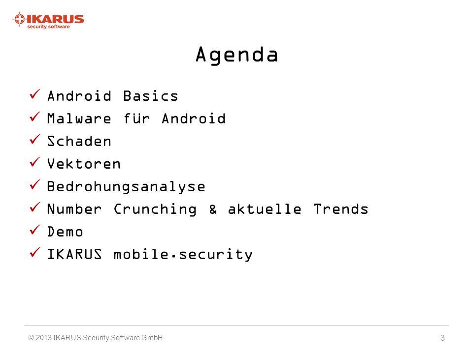 Agenda Android Basics Malware für Android Schaden Vektoren