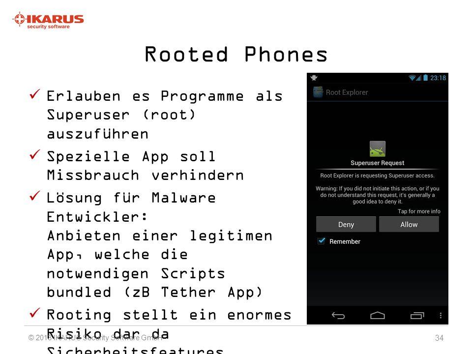 Rooted Phones Erlauben es Programme als Superuser (root) auszuführen