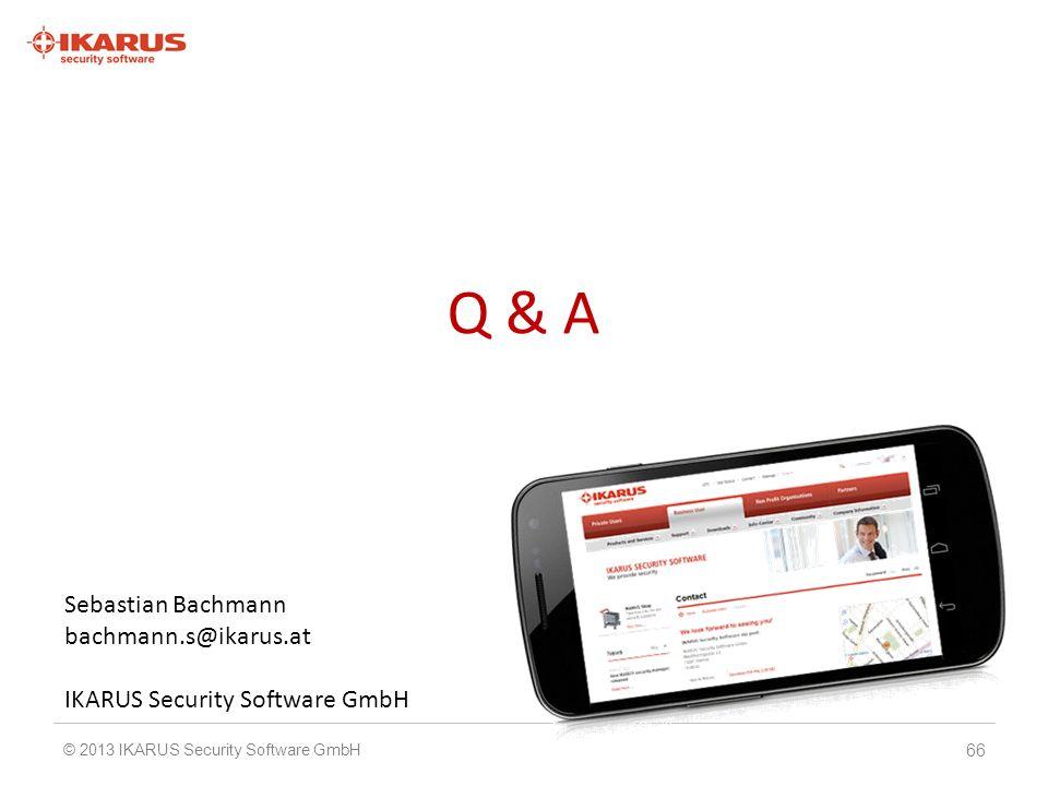 Q & A Sebastian Bachmann bachmann.s@ikarus.at