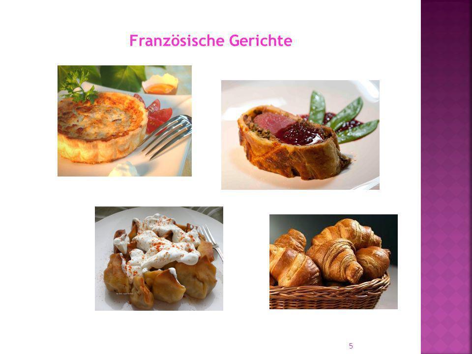 Französische Gerichte