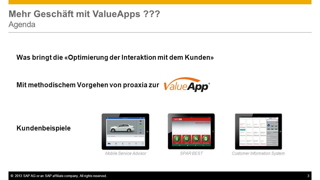 Mehr Geschäft mit ValueApps Agenda