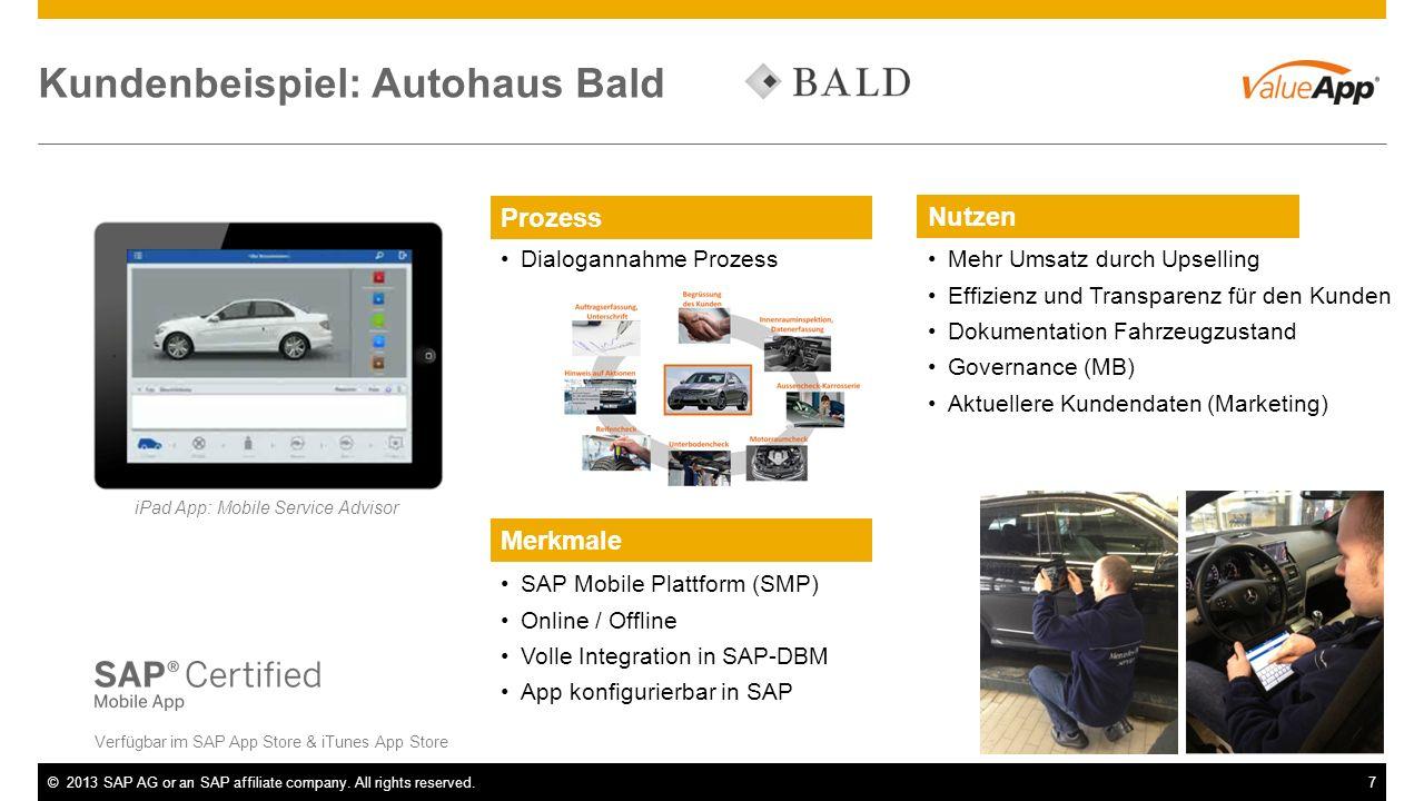 Kundenbeispiel: Autohaus Bald