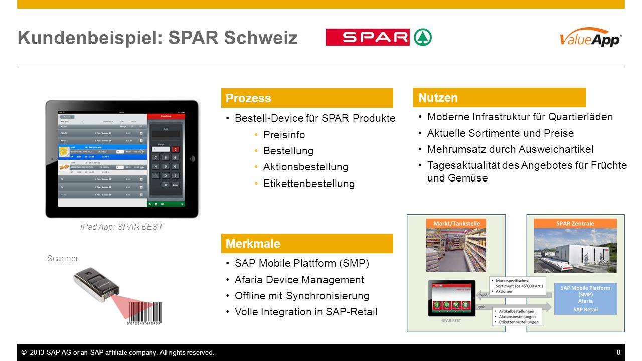 Kundenbeispiel: SPAR Schweiz