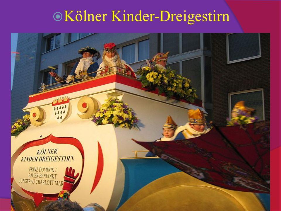 Kölner Kinder-Dreigestirn