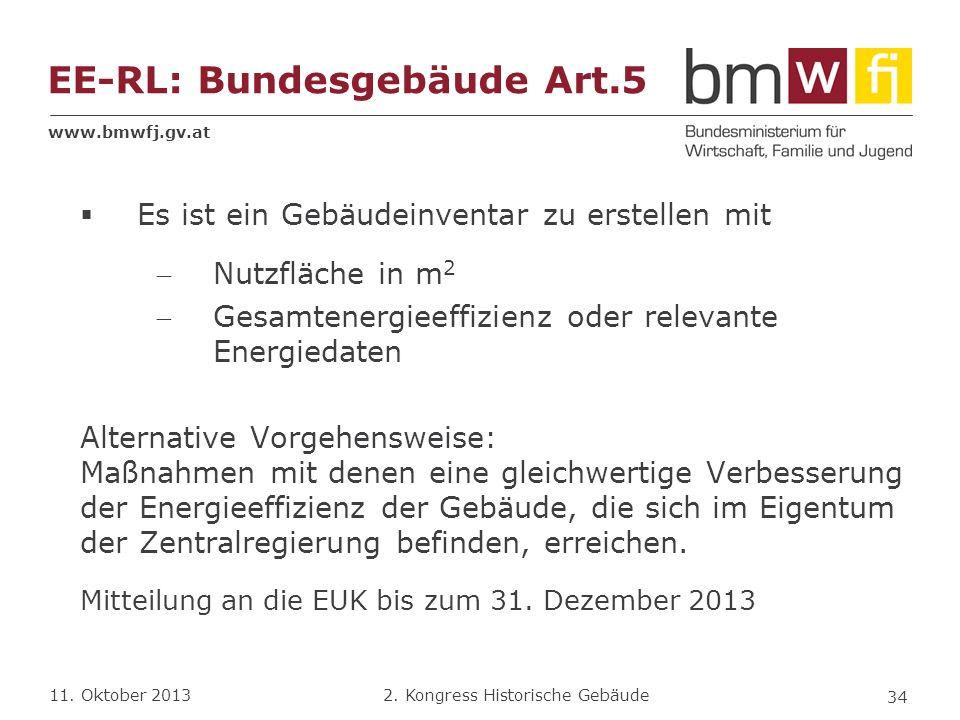 EE-RL: Bundesgebäude Art.5
