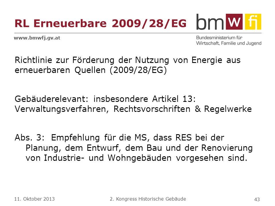 RL Erneuerbare 2009/28/EG