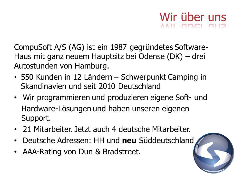 Wir über uns CompuSoft A/S (AG) ist ein 1987 gegründetes Software-Haus mit ganz neuem Hauptsitz bei Odense (DK) – drei Autostunden von Hamburg.