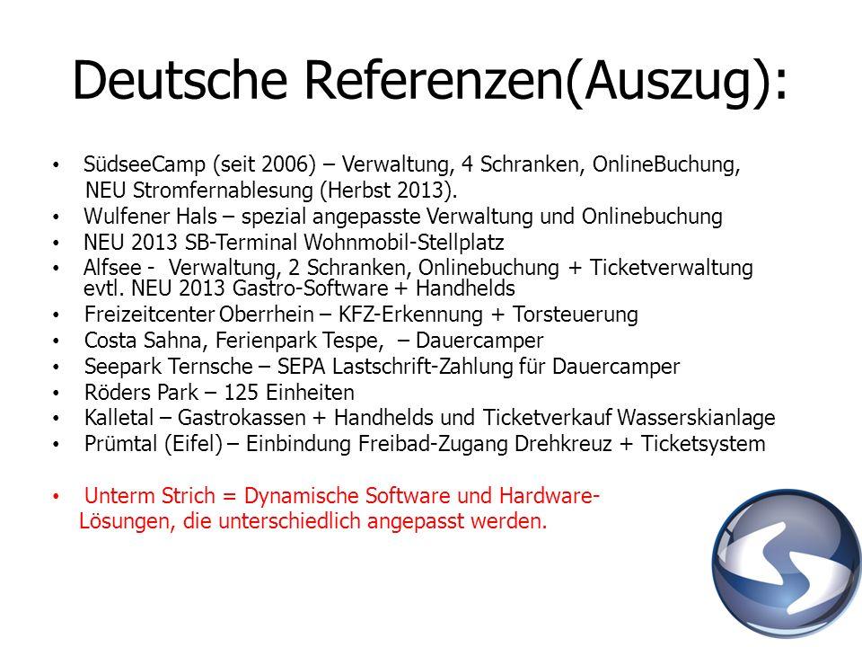 Deutsche Referenzen(Auszug):