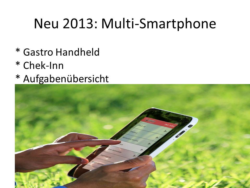 Neu 2013: Multi-Smartphone