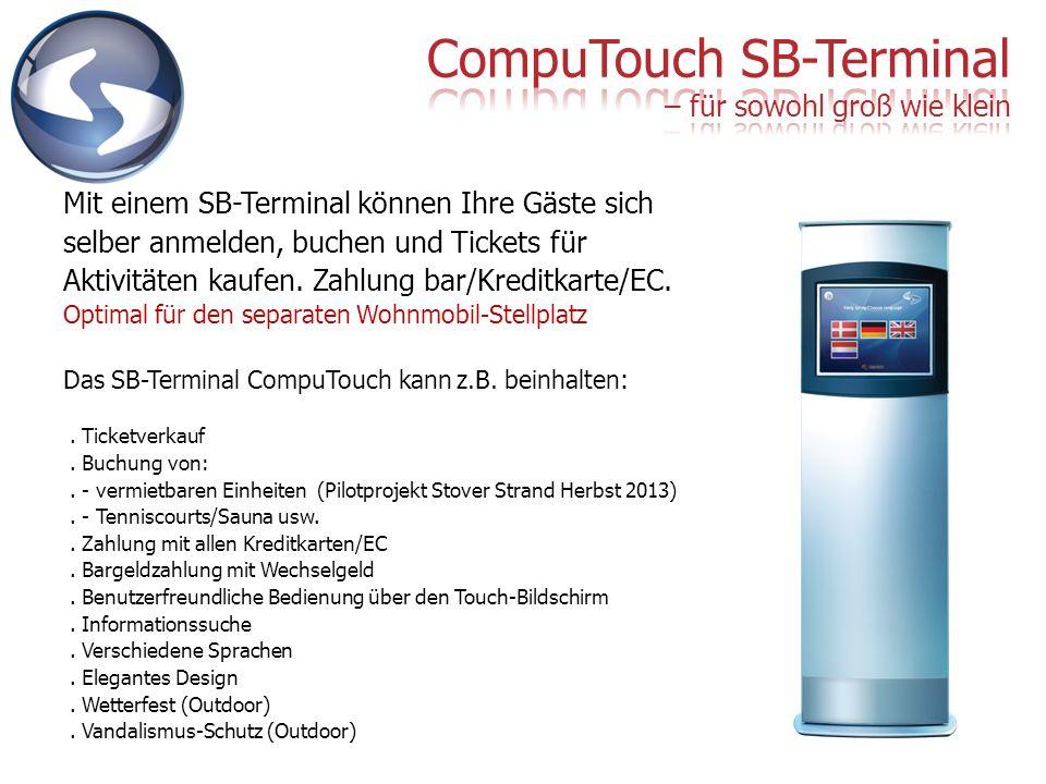 CompuTouch SB-Terminal – für sowohl groß wie klein