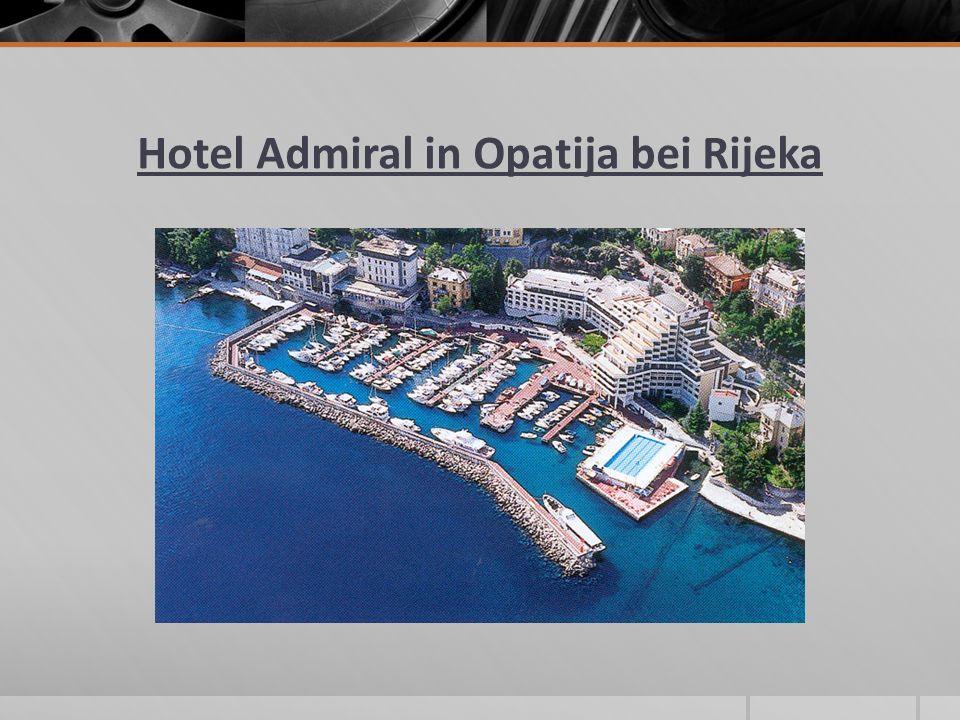 Hotel Admiral in Opatija bei Rijeka
