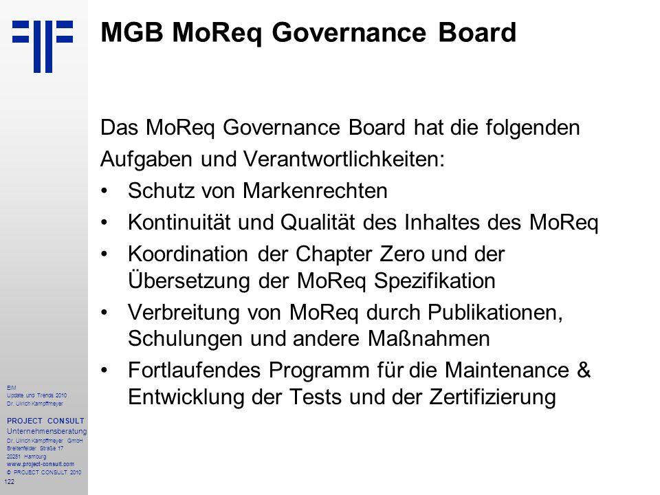 MGB MoReq Governance Board