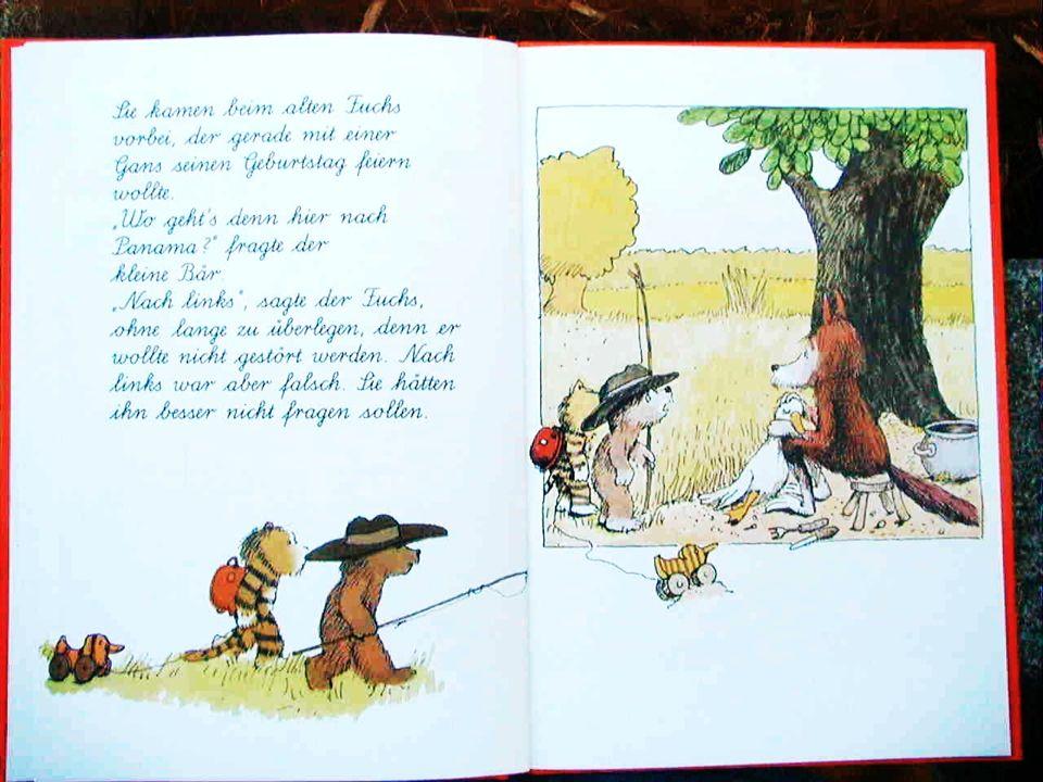 Teil 3: Abendteuer 1 Begegnung mit der Maus, mit dem Fuchs, mit der Kuh, und im Regen
