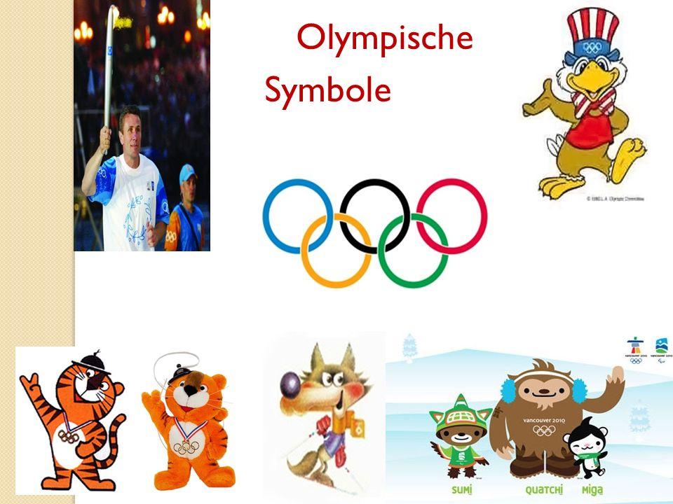 Olympische Symbole